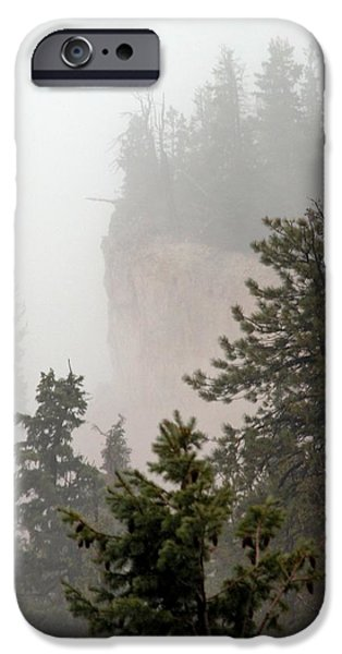Pines iPhone Cases - Bryce in the rain iPhone Case by Darla Hallmark