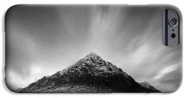 Beautiful Scenery iPhone Cases - Buachaille Etive Mor 1 iPhone Case by Dave Bowman