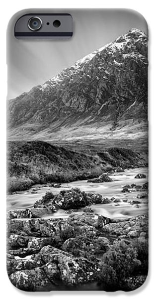 Buachaille Etive Mor 3 iPhone Case by Dave Bowman