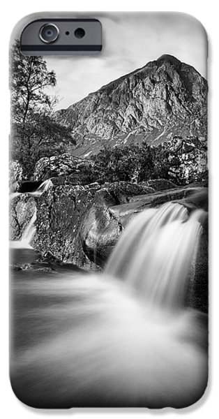 Beautiful Scenery iPhone Cases - Buachaille Etive Mor 4 iPhone Case by Dave Bowman