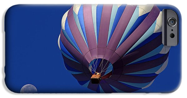 Hot Air Balloon iPhone Cases - Bubballoon iPhone Case by Donna Kennedy