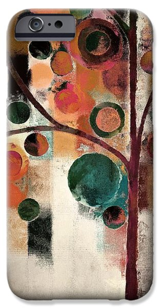 Terra iPhone Cases - Bubble Tree - j08688 iPhone Case by Variance Collections