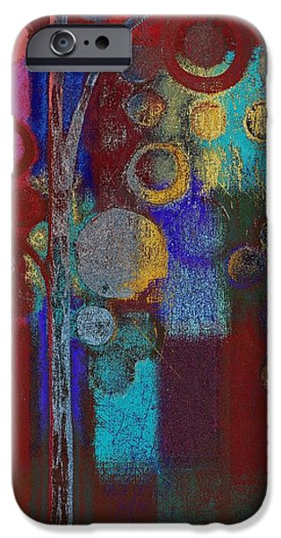 Realism Mixed Media iPhone Cases - Bubble Tree - rd01r iPhone Case by Variance Collections