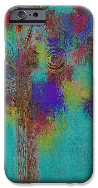 Realism Mixed Media iPhone Cases - Bubble Tree - Sped09r iPhone Case by Variance Collections