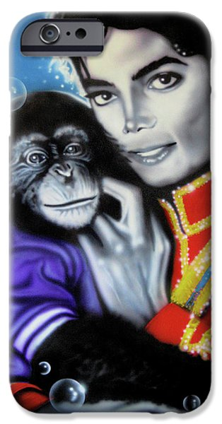 King Of Pop iPhone Cases - Bubbles iPhone Case by Alicia Hayes