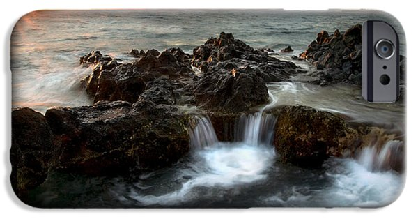 Ocean Sunset iPhone Cases - Bubbling Cauldron iPhone Case by Mike  Dawson