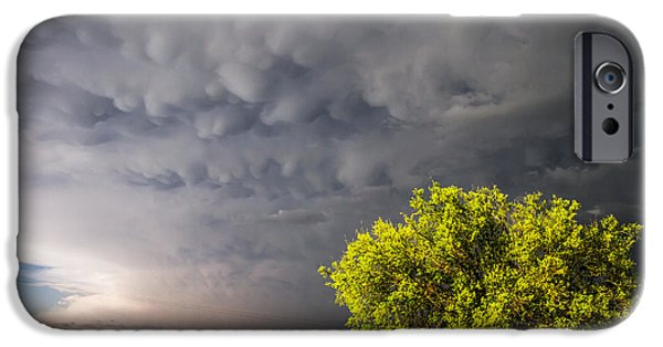 Lightning Photographer iPhone Cases - Bubbly iPhone Case by Sean Ramsey