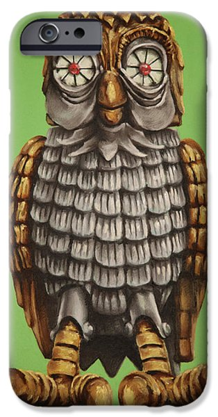 Bubo iPhone Case by Brent Andrew Doty