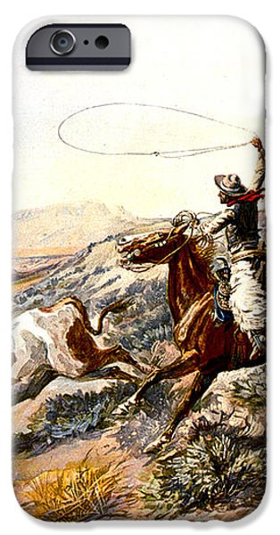Buccaroos iPhone Case by Charles Russell