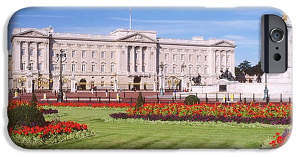 Palatial iPhone Cases - Buckingham Palace, London, England iPhone Case by Panoramic Images