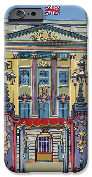 Buckingham Palace iPhone Case by Nicky Leigh