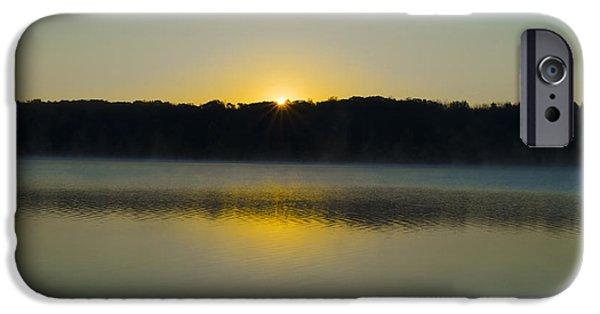 Bucks County iPhone Cases - Bucks County Pa - Lake Nockamixon iPhone Case by Bill Cannon