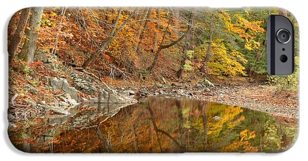 Bucks County iPhone Cases - Bucks County Reflections iPhone Case by Adam Jewell