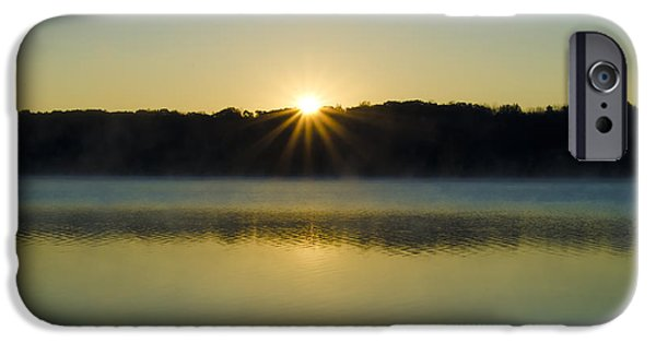 Bucks County iPhone Cases - Bucks County Sunrise iPhone Case by Bill Cannon