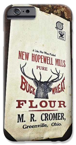 Grist Mill iPhone Cases - Buckwheat and Cornmeal iPhone Case by Natasha Marco