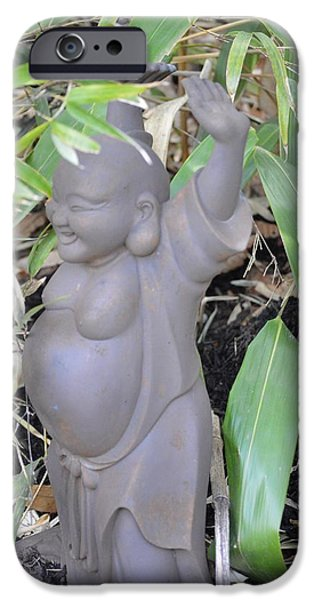Budai iPhone Case by Sonali Gangane