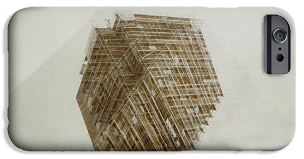 Film Pyrography iPhone Cases - Budapest 2.0 iPhone Case by Bence Farkas