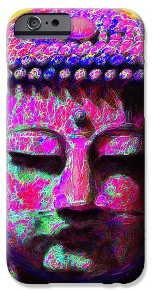 Buddha 20130130m168 iPhone Case by Wingsdomain Art and Photography