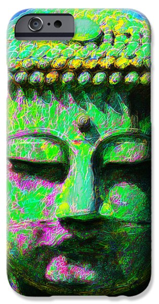 Buddha 20130130p0 iPhone Case by Wingsdomain Art and Photography