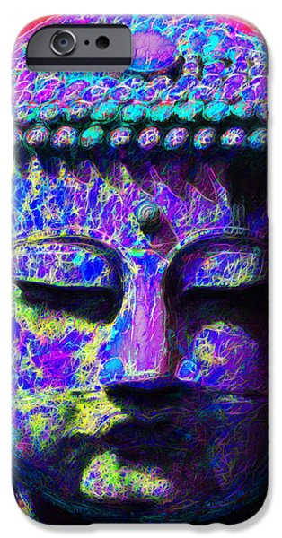 Buddha 20130130p128 iPhone Case by Wingsdomain Art and Photography