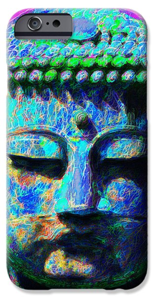 Buddha 20130130p76 iPhone Case by Wingsdomain Art and Photography