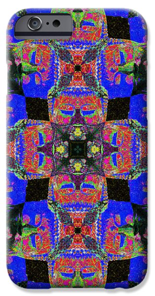 Buddha Abstract 20130130m68 iPhone Case by Wingsdomain Art and Photography