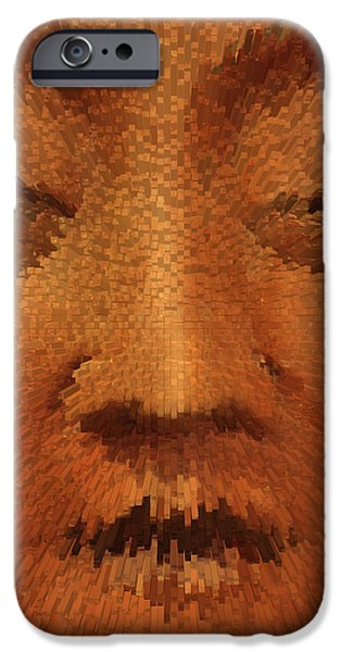 Tibetan Buddhism iPhone Cases - Buddha  c2014 iPhone Case by Paul Ashby