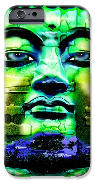 Buddha iPhone Case by Daniel Janda