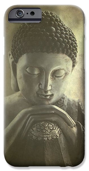 Buddha iPhone Case by Madeleine Forsberg