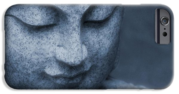 Human Spirit iPhone Cases - Buddha Statue iPhone Case by Dan Sproul