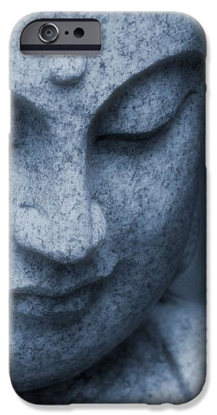 Buddha Statue iPhone Case by Dan Sproul