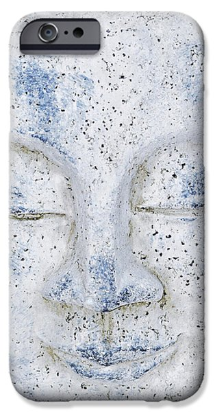 Buddhism Mixed Media iPhone Cases - Buddha statue  iPhone Case by Toppart Sweden