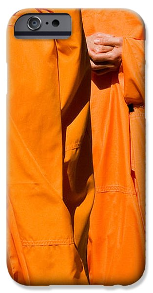 Buddhist Monks 02 iPhone Case by Rick Piper Photography