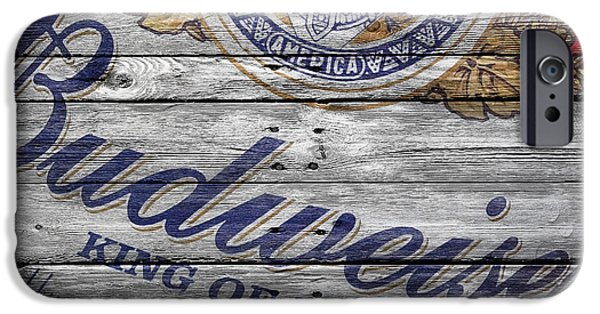 Crate iPhone Cases - Budweiser iPhone Case by Joe Hamilton