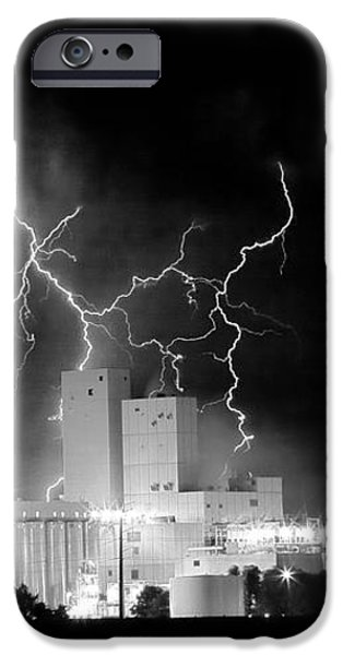 Budweiser Lightning Thunderstorm Moving Out BW Pano iPhone Case by James BO  Insogna