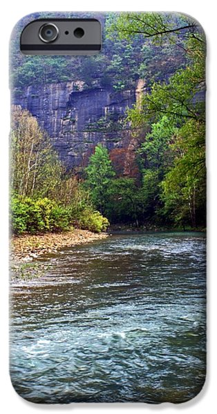 Best Sellers -  - Arkansas iPhone Cases - Buffalo River Downstream iPhone Case by Marty Koch