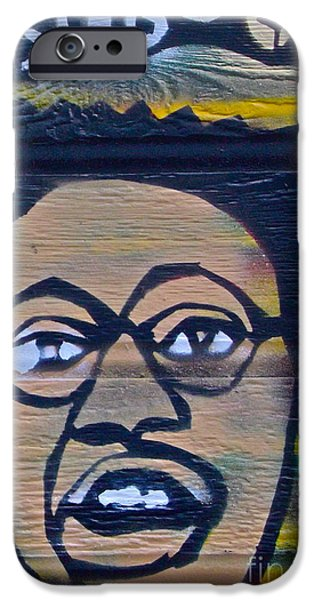 Discrimination Paintings iPhone Cases - Bug Out iPhone Case by Tony B Conscious