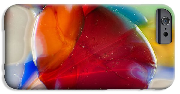 Fine Abstract Glass iPhone Cases - Bugsy iPhone Case by Omaste Witkowski