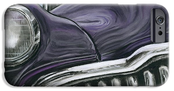 Automotive Pastels iPhone Cases - Buick Smile iPhone Case by Michael Foltz