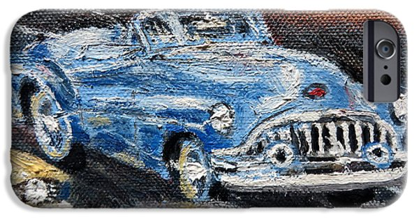 Old Cars iPhone Cases - Buick Vintage iPhone Case by Daniel Gomez