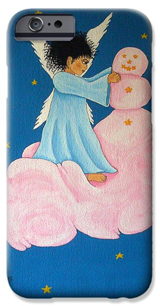 Night Angel iPhone Cases - Building a Cloudman iPhone Case by Pamela Allegretto