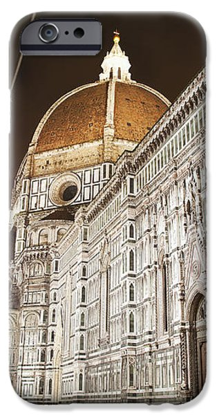 Buildings And Florence Cathedral iPhone Case by Alexander Macfarlane
