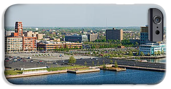 Built Structure iPhone Cases - Buildings At The Waterfront, Adventure iPhone Case by Panoramic Images
