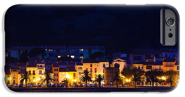 Languedoc iPhone Cases - Buildings At The Waterfront, Collioure iPhone Case by Panoramic Images