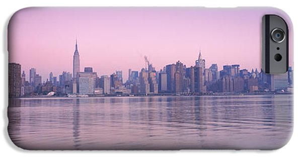 Built Structure iPhone Cases - Buildings At The Waterfront Viewed iPhone Case by Panoramic Images
