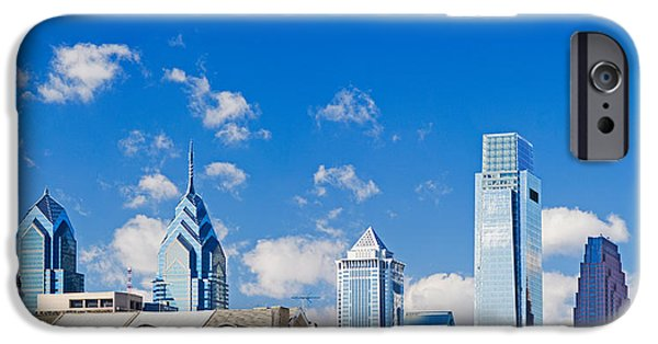 Built Structure iPhone Cases - Buildings In A City, Chinatown Area iPhone Case by Panoramic Images