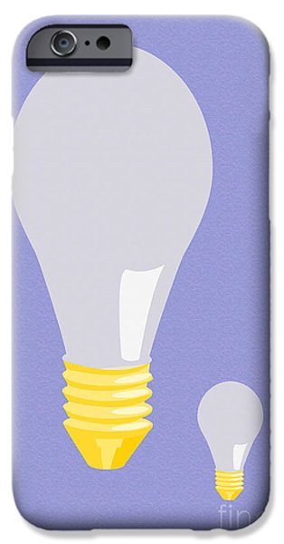 Multimedia iPhone Cases - Bulbs iPhone Case by Tina M Wenger