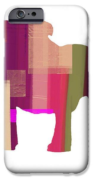 Bulldog iPhone Case by Naxart Studio