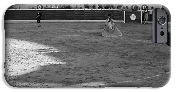 Malaga iPhone Cases - Bullfighter Ready For Bullfight iPhone Case by Panoramic Images