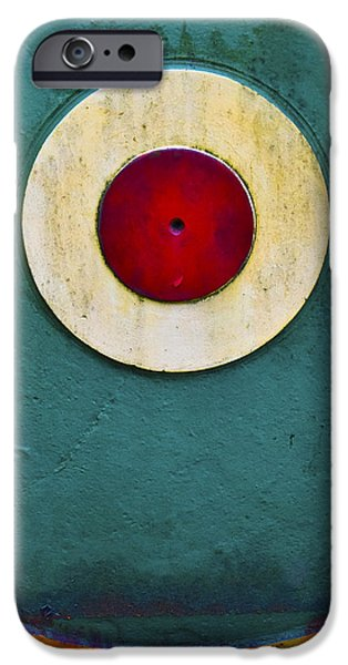 Arkansas iPhone Cases - Bullseye iPhone Case by Skip Hunt